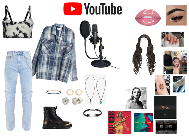 YouTube Singer look #2
