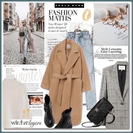Winter Layers: Fashion Maths