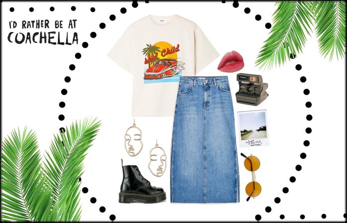 Coachella Outfit : The Modest, Thrift Shopper