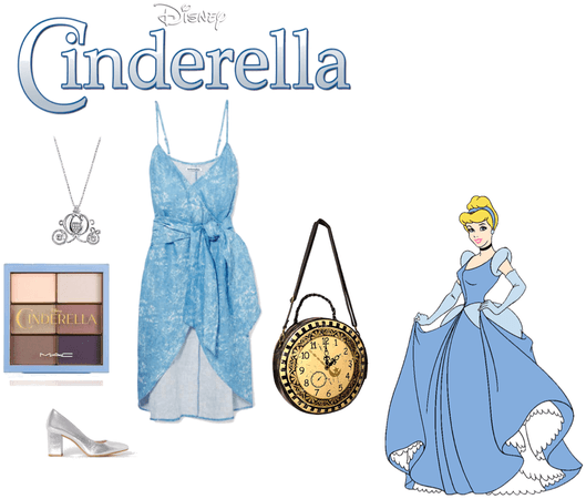 Cinderella (for Disney bounding or cosplay)