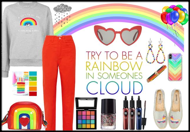 Create your own rainbow everyday