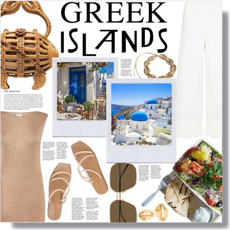 greek island vacay