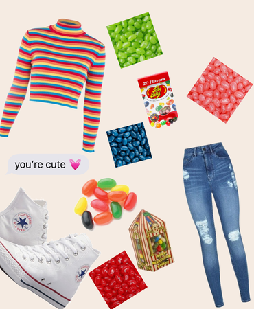 jelly bean outfit