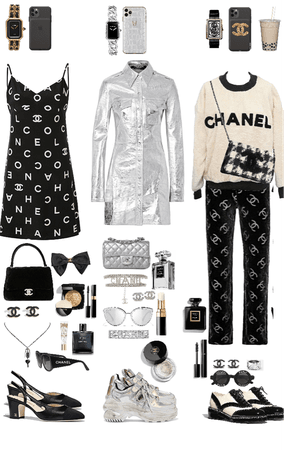 Chanel outfits💸⛓