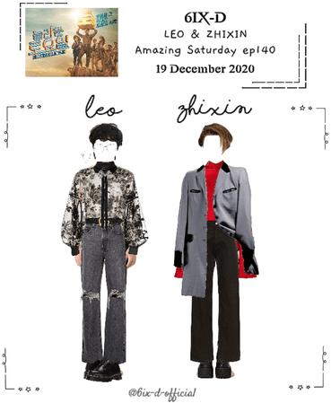 6IX-D [씩스띠] (LEO & ZHIXIN) Amazing Saturday 201219