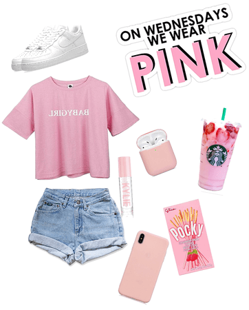 School time (Inspired by mean girls we wear pink on Wednesday)