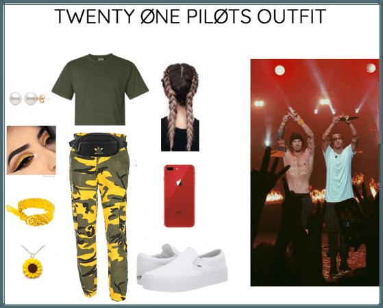 twenty one pilots concert outfit