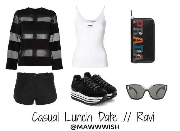 VIXX // Casual Lunch Date with Ravi