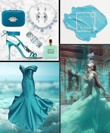 Aqua Event - Aqua Colour of the Year