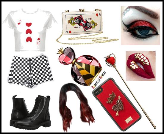 Queen Of Hearts as a teen