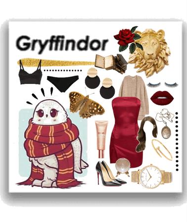 gryffindor; an aesthetic