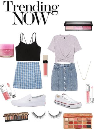 Teen classic skirt looks