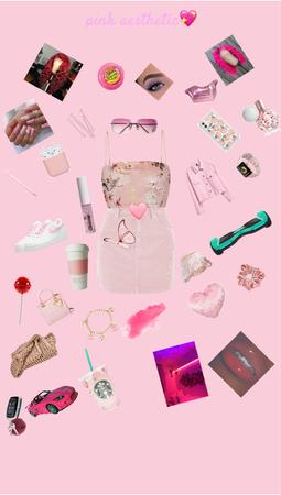 Pink aesthetic angelic