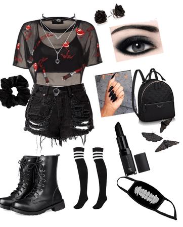 emo/black