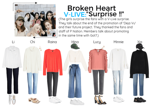 Broken Heart V-Live Livestream