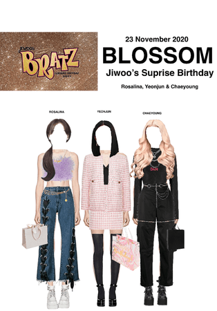 BLOSSOM ( 벨옸옴 ) Attending Jiwoo's Surprise Birthday Party
