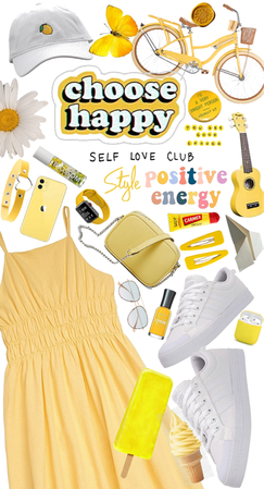 Yellow Ice Cream Social outfit