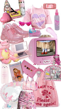 Pink Barbie Kitty Dream