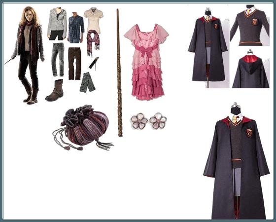 Hermione Granger Halloween costumes.