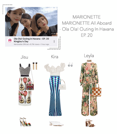 MARIONETTE (마리오네트) [MARIONETTE ALL ABOARD] Ola Ola! Outing in Havana - EP. 20