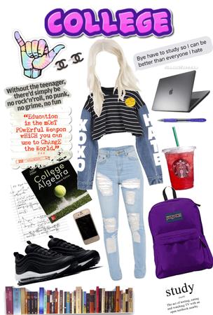 college girl 👧 xox
