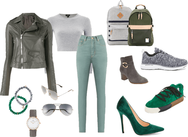 Slytherin Casual