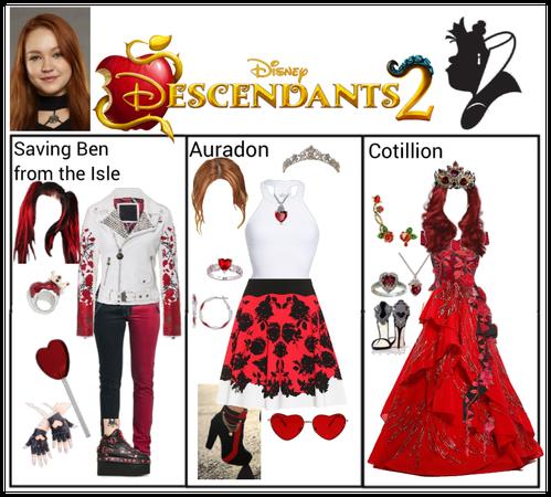 Descendants 2 ~ Queenie Hearts