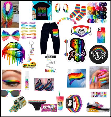 Pride month #rainbow fit