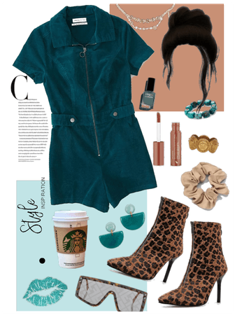 Chocolate + Teal
