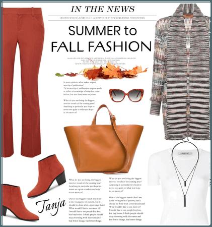 #Summer to Fall Fashion