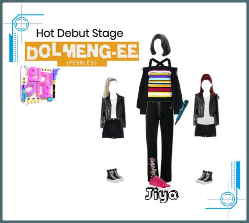 Hot Debut Stage Dolmenge-ee by Jiya | Inkigayo