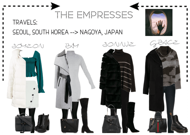 [THE EMPRESSES] TRAVELS: SEOUL TO NAGOYA, JAPAN