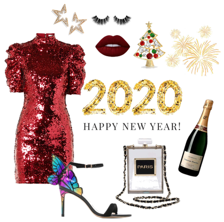 Outfit Happy New Year 2020
