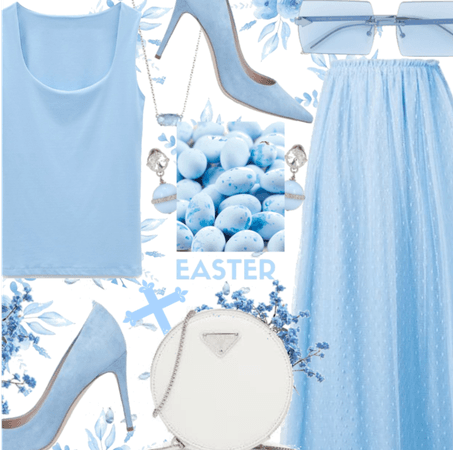 Easter Blue - Happy easter