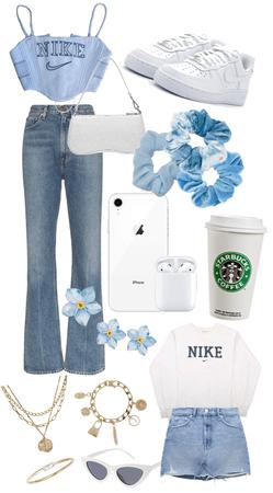Blue Nike vintage💙