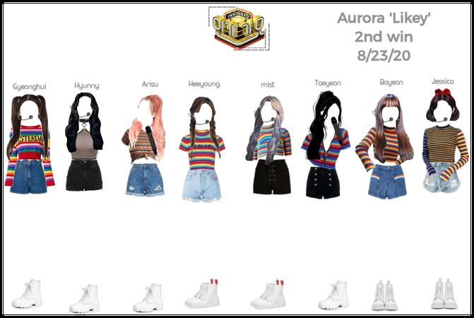 Aurora 'Likey' 2nd win 8/23/20