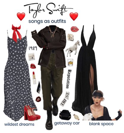 t swift songs as outfits lookbook