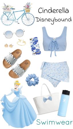Cinderella Swimwear Disneybound