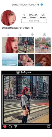Sungmin's Instagram Account
