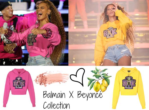 Balmain X Beyoncé Collection 2018
