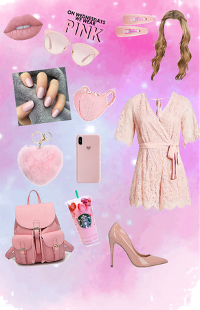 Back to school: Pink