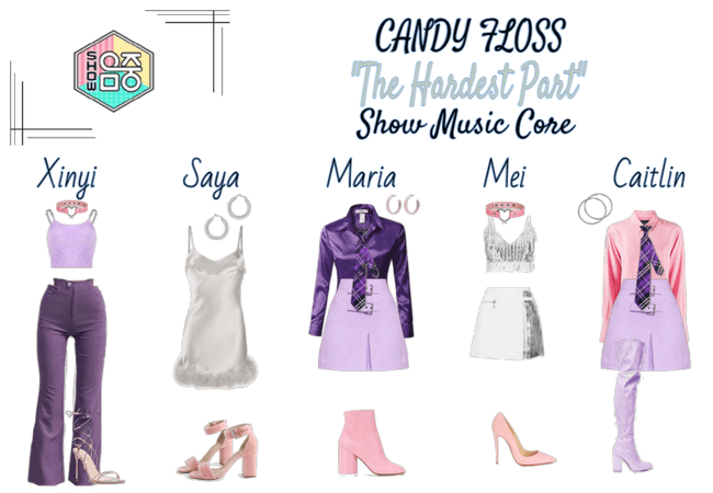 "CANDY FLOSS -- Show! Music Core ""The Hardest Part"""
