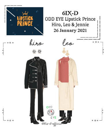 ODD EYE [오드아이] Lipstick Prince 210126