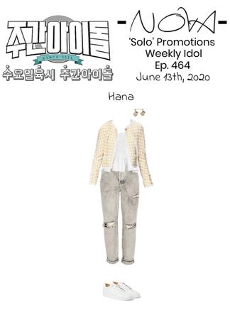 -NOVA- 'Solo' Weekly Idol Ep.464