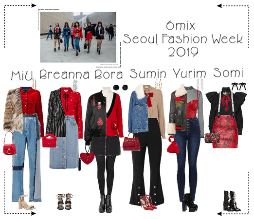 《6mix》Seoul Fashion Week 2019