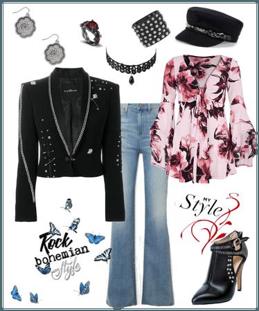 my Style: Rocker Bohemian