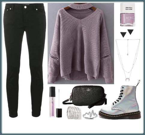 Pastel Purple & Holo