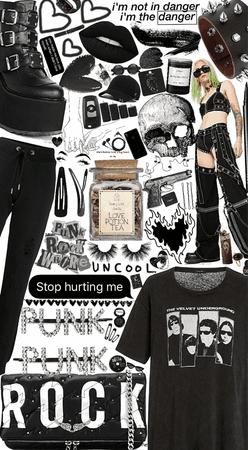 punk rock style 2020🖤