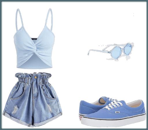 Blue Monochromatic