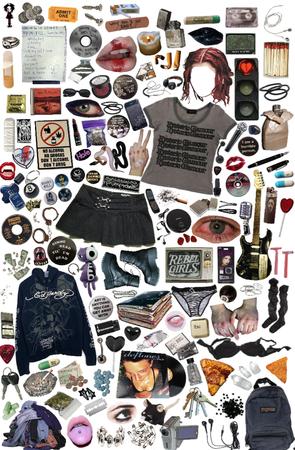 grunge band girl